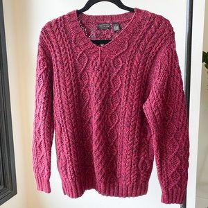 AMERICAN EAGLE chunky cable knit vintage sweater